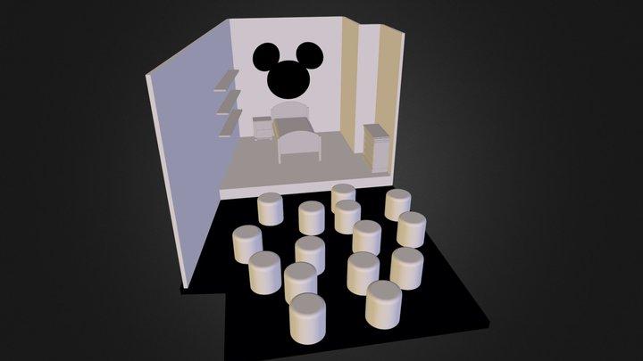 balkon_kamer.3ds 3D Model