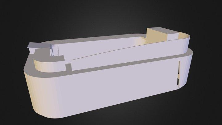 kiosk_bar_large.3DS 3D Model