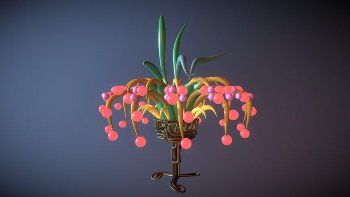 gs_flower_bowl 3D Model
