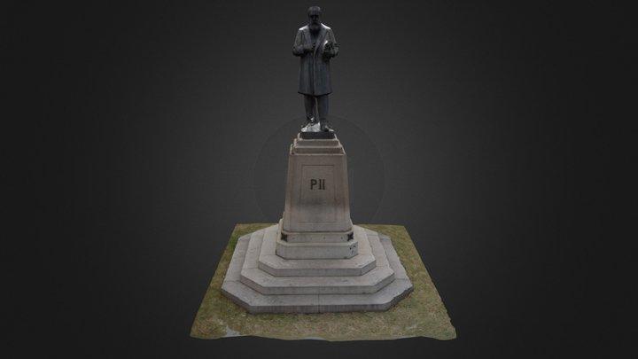 D Pedro II 3D Model