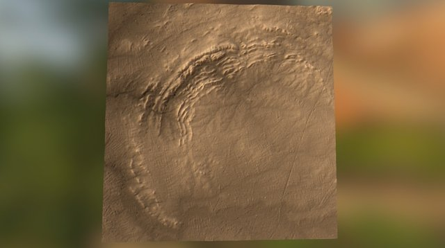 Vredefort Crater 3D Model
