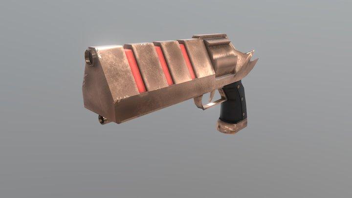 Copper Handcannon 3D Model