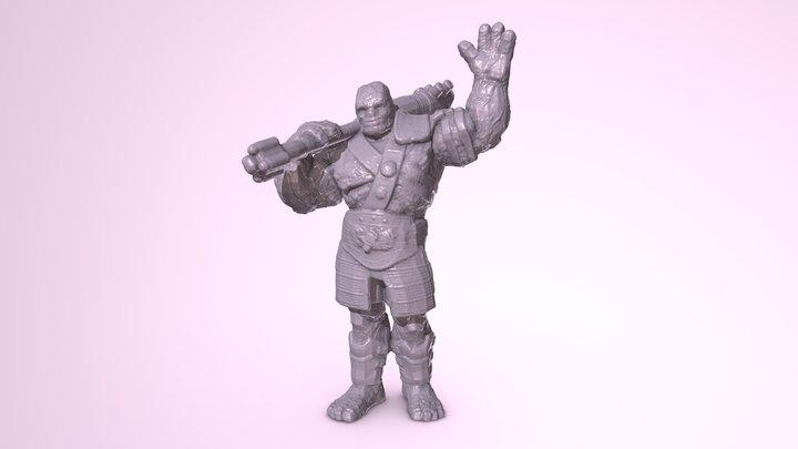 Korg Disp 3D Model