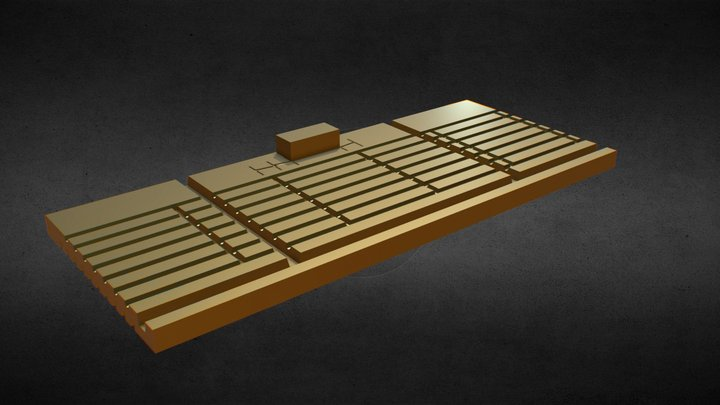 Continuous Fence - 1/64th Scale Brass Jig