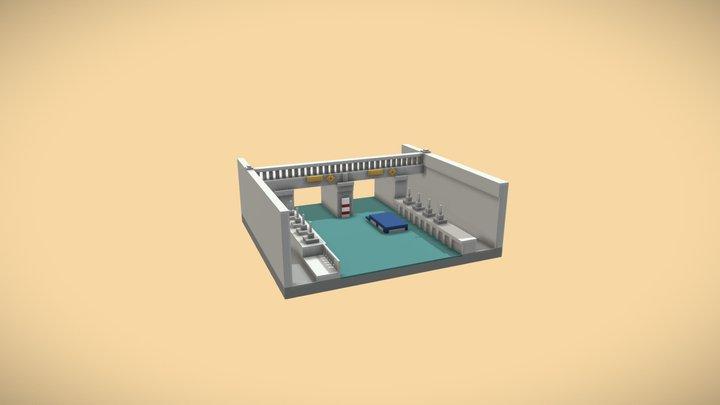"""Underpass """"Lake Elmira"""" 3D Model"""