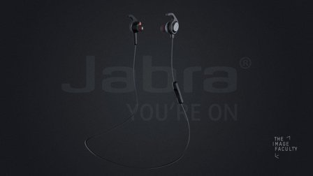 Jabra Rox Wireless Earbuds 3D Model