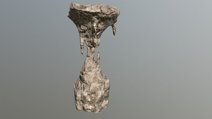 Stalagmite Formation 1 3D Model