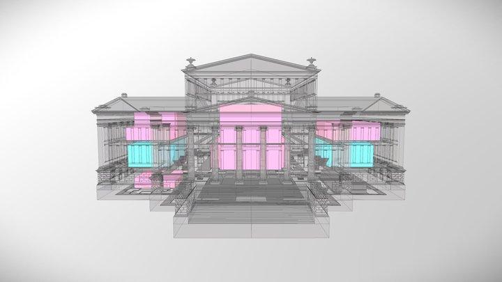Konzerthaus Berlin: Overview 3D Model