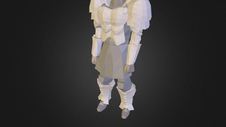 Armura gardianului de elita 3D Model