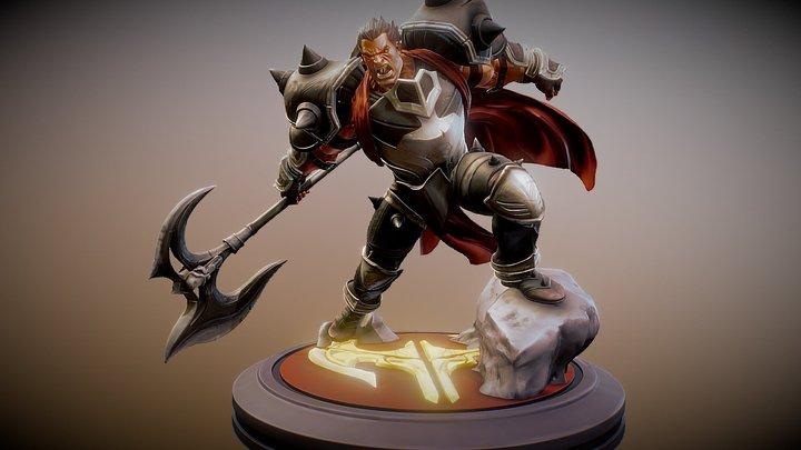Darius Fanart - League of Legends 3D Model