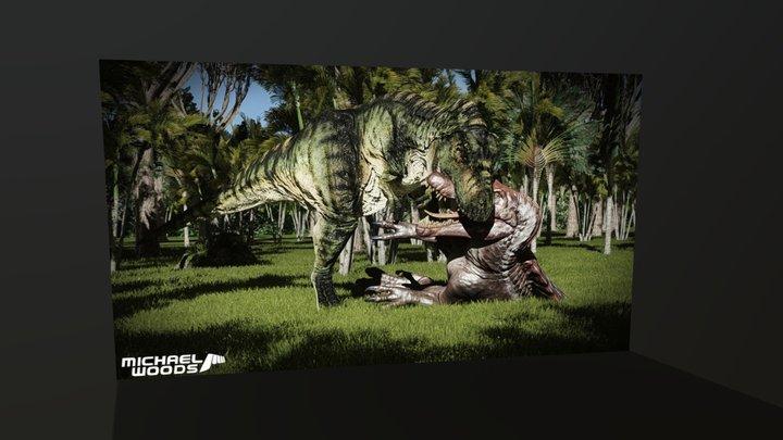 Bull takes Revenge 3D Model