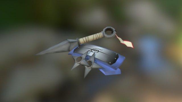 Shinobi Tools 3D Model