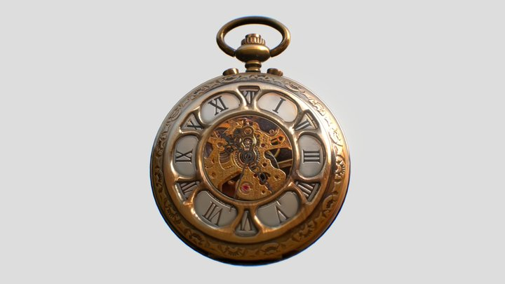 Old Watch 3D Model