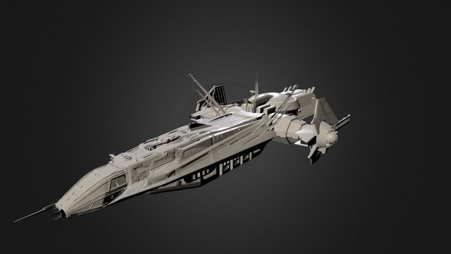 Anvil Aerospace Carrack 3D Model
