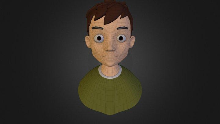 Little Boy  3D Model