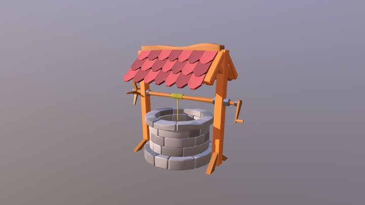 Well Low Poly Game Ready Asset! 3D Model