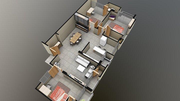 Apartment interior model 3D Model