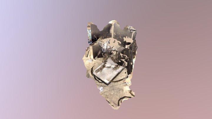 alien sculpture 3D Model