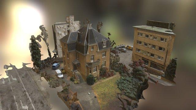 Maison de Maître 3D Model