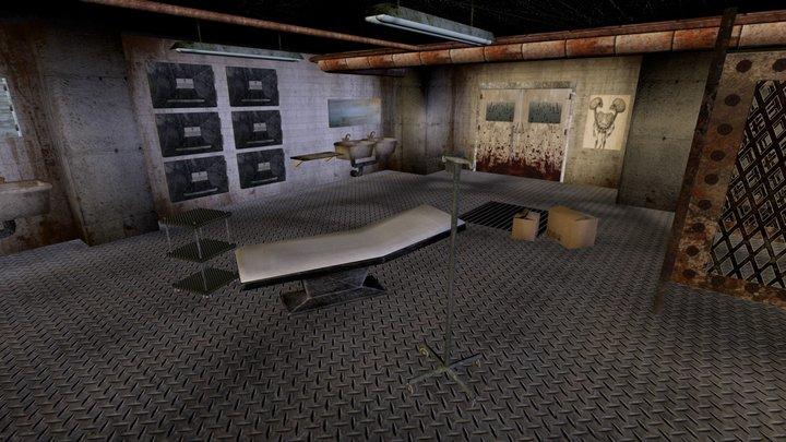 Warehouse of murderer 3D Model