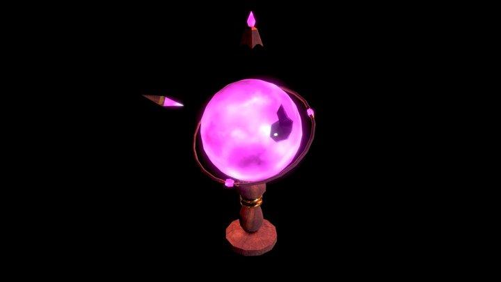 Magic... Globe? [Game Ready] 3D Model