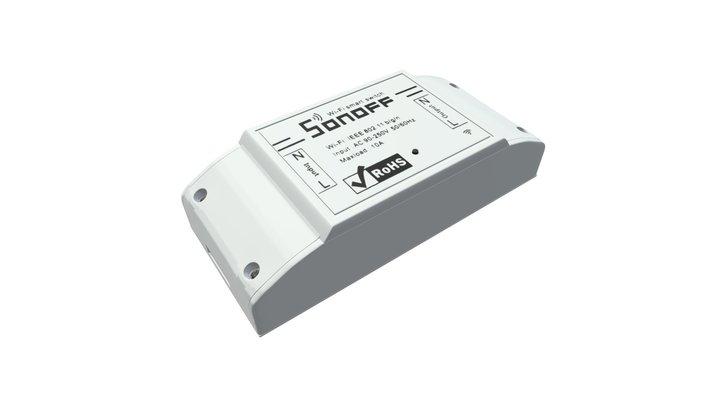 Sonoff Bezprzewodowy włącznik - Wireless Switch 3D Model
