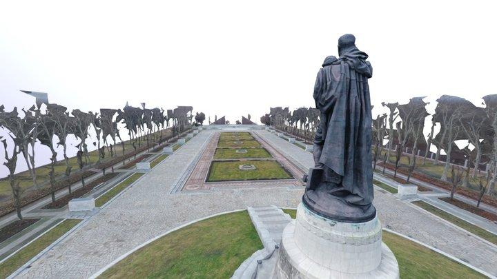Soviet War Memorial Berlin 3D Model