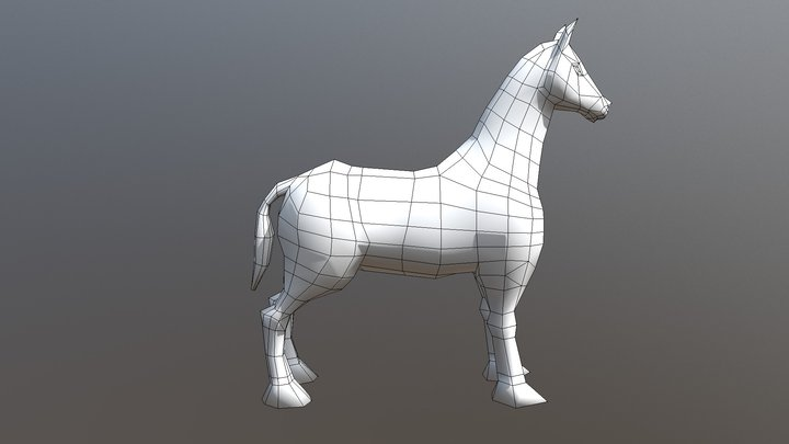 Horse Model 3D Model