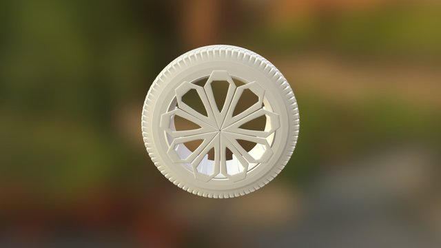 Wheel Exercise 3D Model