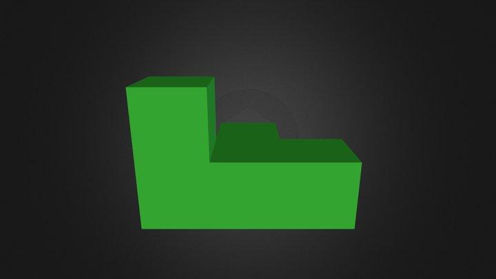 Dark green 3D Model