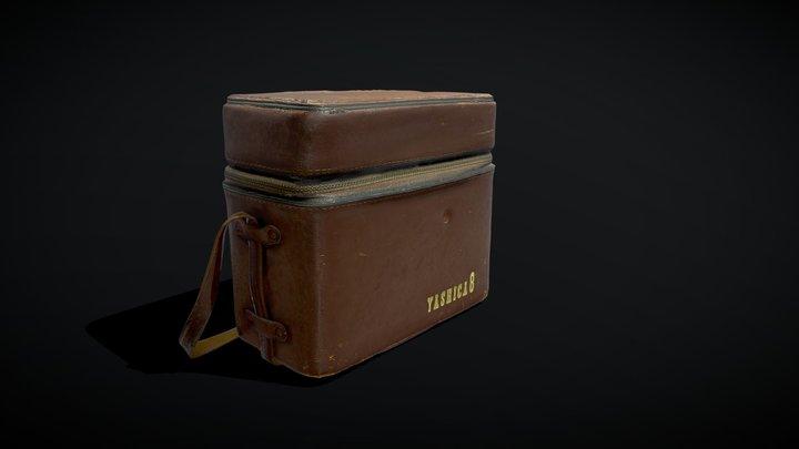 Yashica 8mm Leather Camera Bag 3D Model