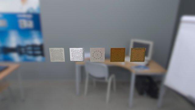 Tiles New Materials 3D Model
