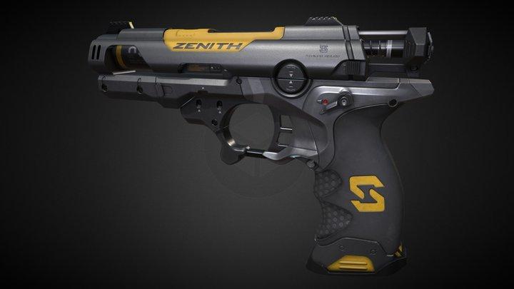 Deus ex - stun gun 3D Model