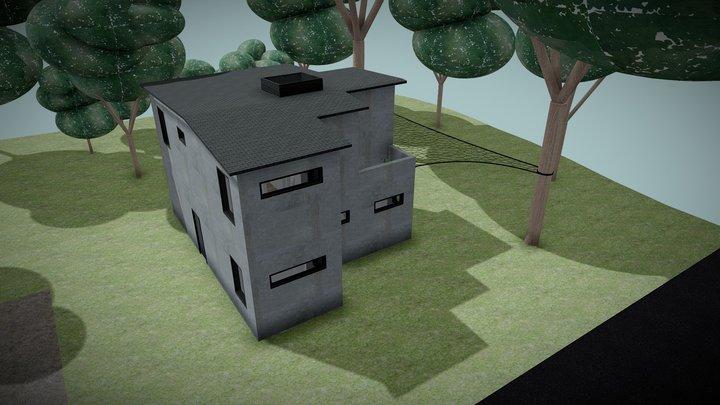 Casa Ashe Exterior 3D Model