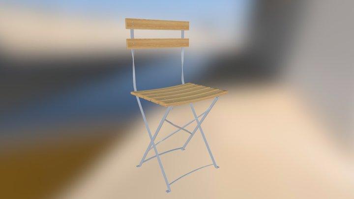 Square 3D Model