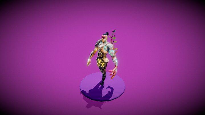Samurai 3D Model