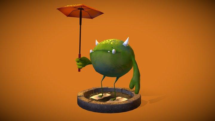 Happy Monster 3D Model