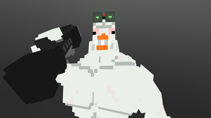 Chuck - The Lenged 3D Model