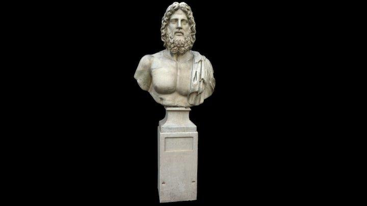 Head of Jupiter 3D Model