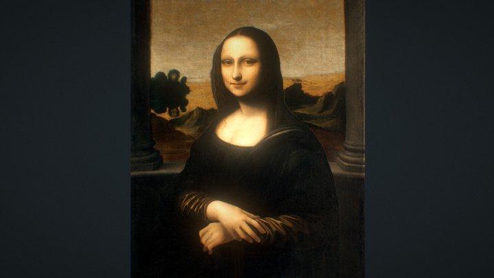 Isleworth Mona Lisa 3D 3D Model
