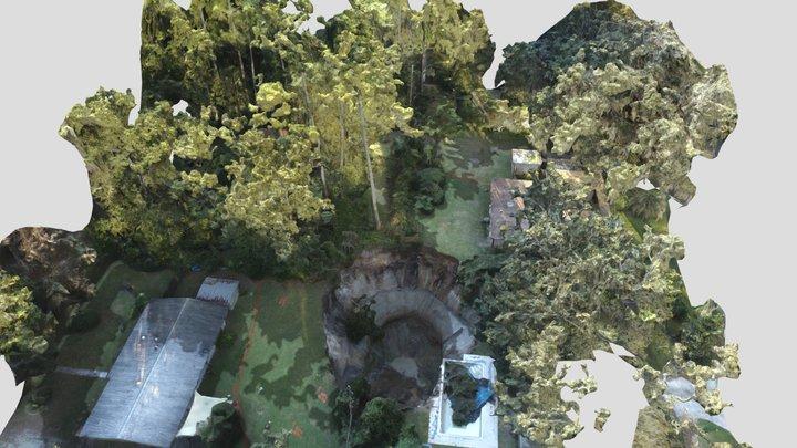 Gainesville, Fl Sinkhole 3D Model