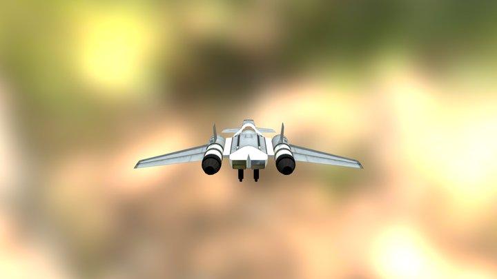 TurboSpaceRocket FX-5 3D Model