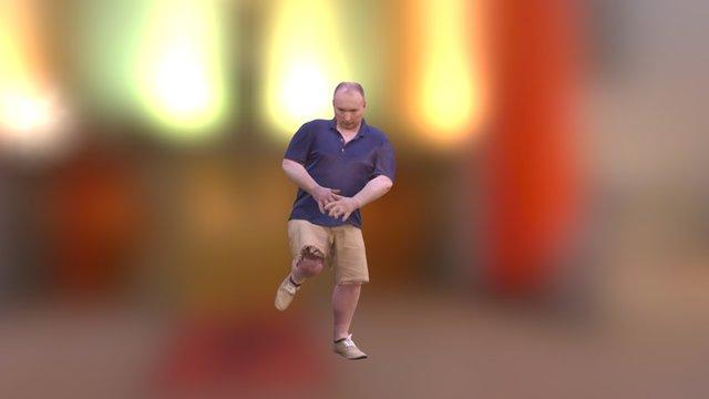 ME Hip Hop Dancing 3D Model