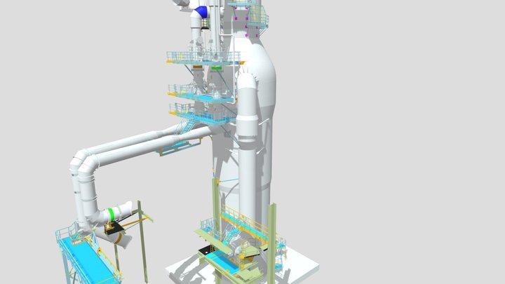 Ohrievač vetra OV62 3D Model