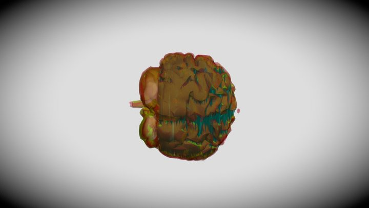 3 Overlays 3D Model
