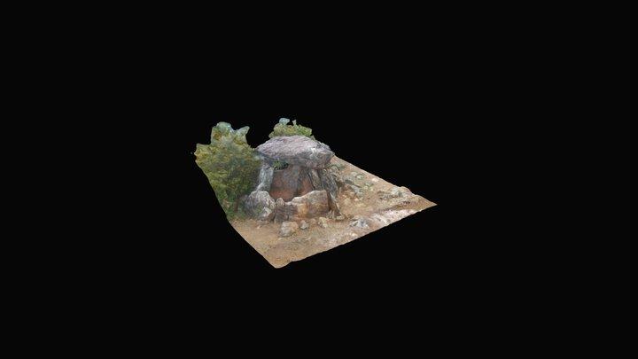 Dolmen de Tella, Huesca. 3D Model
