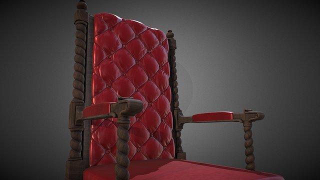 Gotham Chair 3D Model