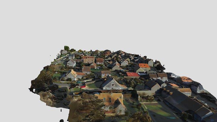 Le Village Les Granges Le Roi 3D Model