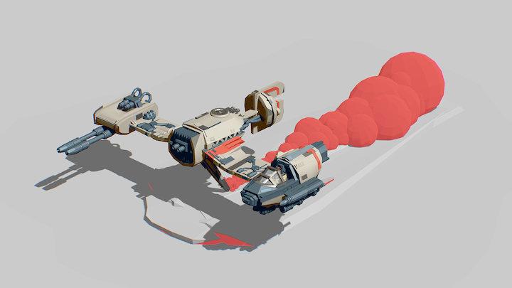 Ski Speeder ! 3D Model