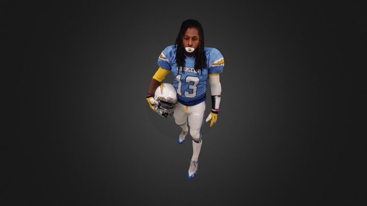 Kenny Griffith #13 3D Model